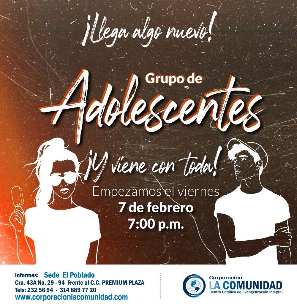 Grupo de Adolescentes Corporación la Comunidad